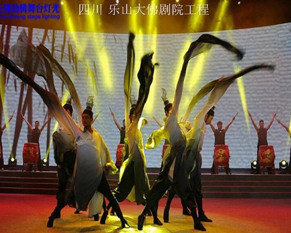 四川樂山(shan)大佛(fu)劇院(yuan)工程